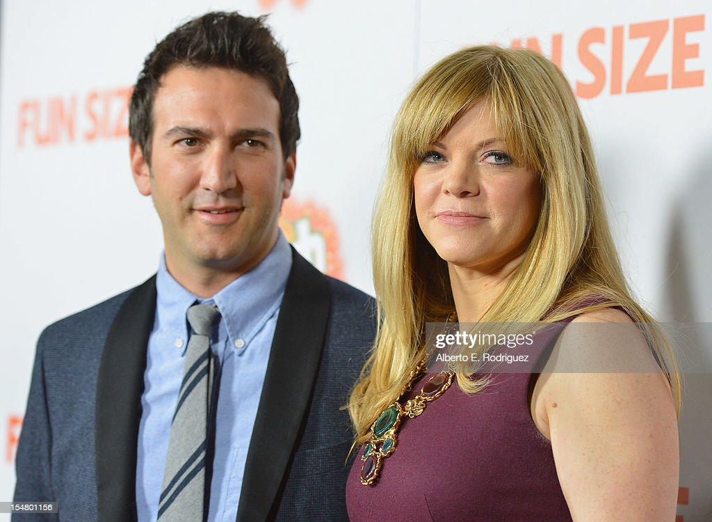 Director/producer Josh Schwartz and producer Stephanie Savage arrive to the premiere of Paramount Pictures' 'Fun Size' at Paramount Theater on the Paramount Studios lot on October 25, 2012 in Hollywood, California.