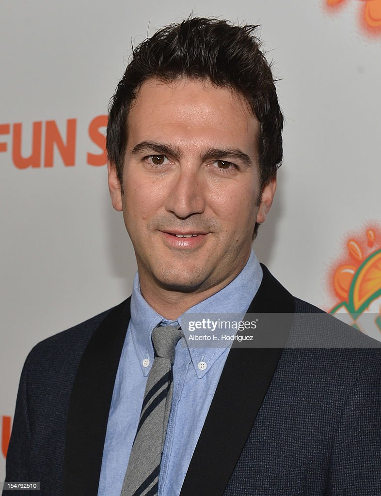 Director/producer Josh Schwartz arrives to the premiere of Paramount Pictures' 'Fun Size' at Paramount Theater on the Paramount Studios lot on October 25, 2012 in Hollywood, California.