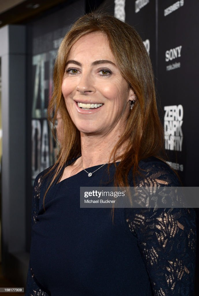 Director/Producer Kathryn Bigelow arrives at the Los Angeles premiere of Columbia Pictures' 'Zero Dark Thirty' at Dolby Theatre on December 10, 2012 in Hollywood, California.