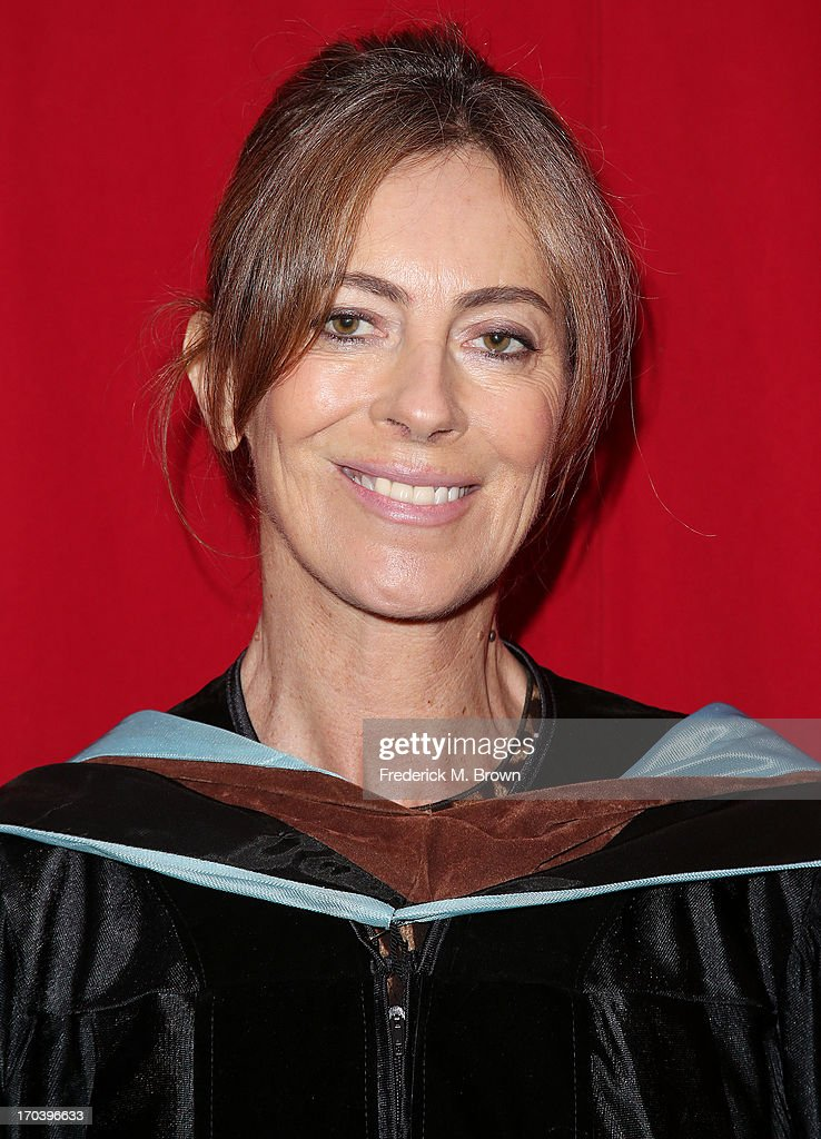 Director/producer <a gi-track='captionPersonalityLinkClicked' href=/galleries/search?phrase=Kathryn+Bigelow&family=editorial&specificpeople=1278119 ng-click='$event.stopPropagation()'>Kathryn Bigelow</a> attends the 2013 AFI Conservatory Commencement Ceremony at the El Capitan Theatre on June 12, 2013 in Hollywood, California.