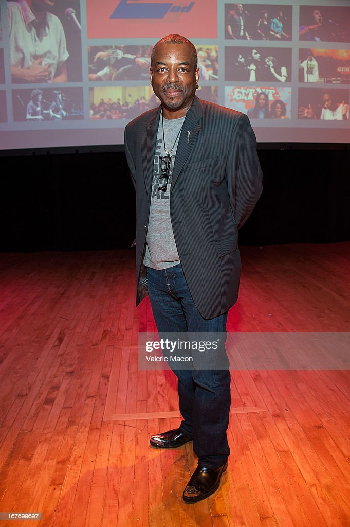 Director/producer <a gi-track='captionPersonalityLinkClicked' href=/galleries/search?phrase=LeVar+Burton&family=editorial&specificpeople=241259 ng-click='$event.stopPropagation()'>LeVar Burton</a> attends Get Lit Presents The 2nd Annual Classic Slam at Orpheum Theatre on April 27, 2013 in Los Angeles, California.