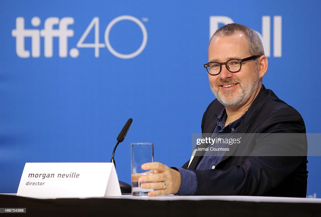 Director/Producer Morgan Neville speaks onstage during the 'Keith Richards: Under The Influence' press conference at the 2015 Toronto International Film Festival at TIFF Bell Lightbox on September 17, 2015 in Toronto, Canada.