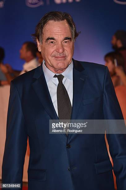 Director/Producer Oliver Stone attends the 'Snowden' premiere during the 2016 Toronto International Film Festival at Roy Thomson Hall on September 9...
