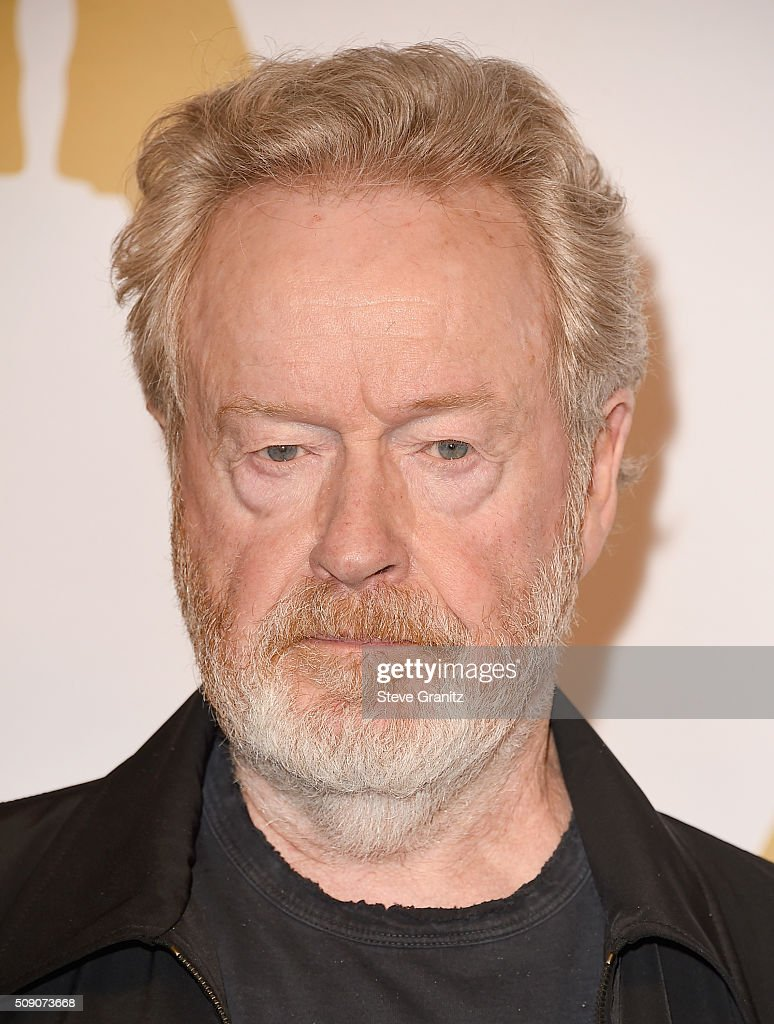 Director/producer <a gi-track='captionPersonalityLinkClicked' href=/galleries/search?phrase=Ridley+Scott&family=editorial&specificpeople=215470 ng-click='$event.stopPropagation()'>Ridley Scott</a> attends the 88th Annual Academy Awards nominee luncheon on February 8, 2016 in Beverly Hills, California.
