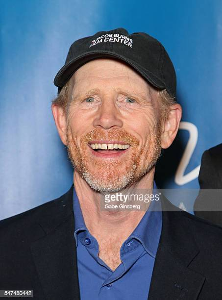 Director/producer Ron Howard attends the 10th anniversary celebration of 'The Beatles LOVE by Cirque du Soleil' at The Mirage Hotel Casino on July 14...
