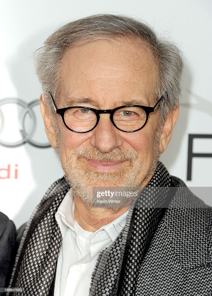 Director/producer <a gi-track='captionPersonalityLinkClicked' href=/galleries/search?phrase=Steven+Spielberg&family=editorial&specificpeople=202022 ng-click='$event.stopPropagation()'>Steven Spielberg</a> arrives at the 'Lincoln' premiere during AFI Fest 2012 presented by Audi at Grauman's Chinese Theatre on November 8, 2012 in Hollywood, California.