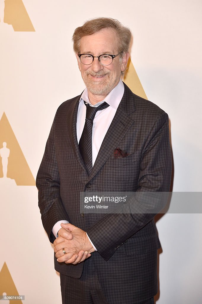 Director/producer <a gi-track='captionPersonalityLinkClicked' href=/galleries/search?phrase=Steven+Spielberg&family=editorial&specificpeople=202022 ng-click='$event.stopPropagation()'>Steven Spielberg</a> attends the 88th Annual Academy Awards nominee luncheon on February 8, 2016 in Beverly Hills, California.
