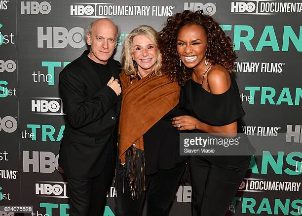 Director/producer Timothy GreenfieldSanders President of HBO Documentary Films Sheila Nevins and interviewer/producer Janet Mock attend HBO...