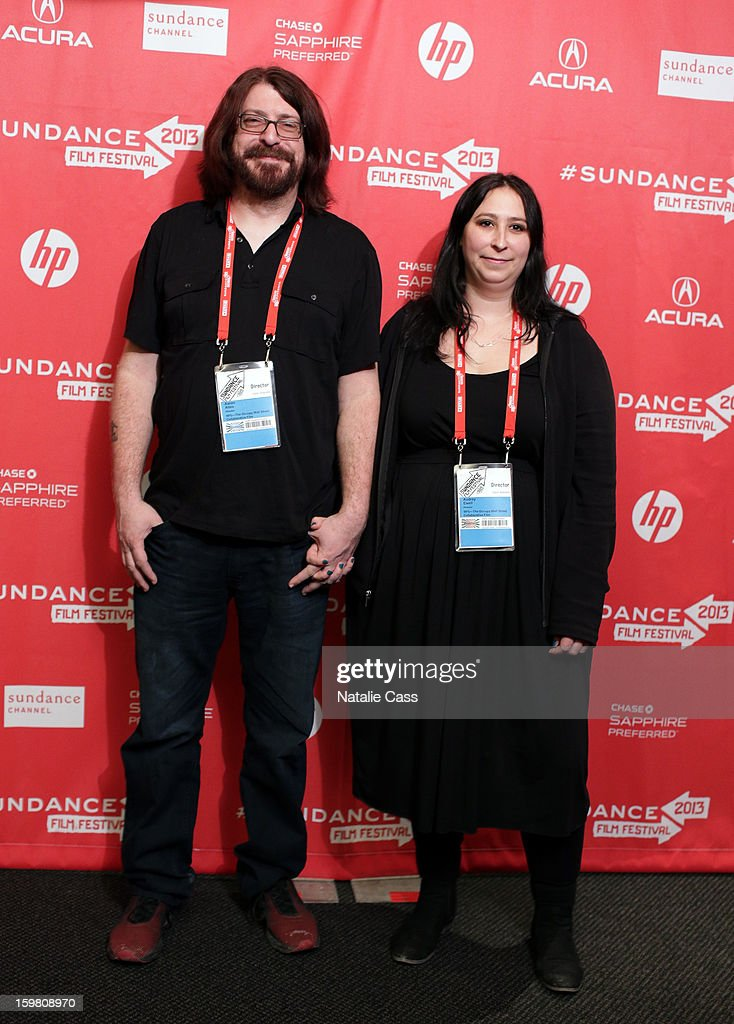 Directors Aaron Aites and Audrey Ewell attend the '99% - The Occupy Wall Street Collaborative Film' premiere at Egyptian Theatre during the 2013 Sundance Film Festival on January 20, 2013 in Park City, Utah.