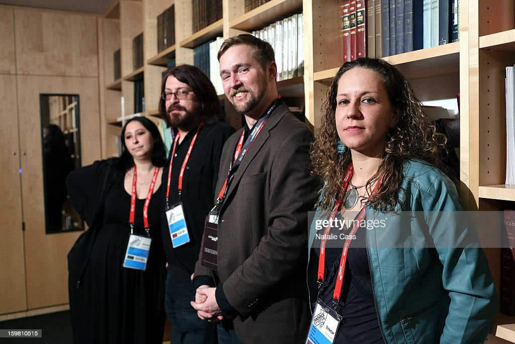 Directors Aaron Aites and Audrey Ewell, producer Stephen Dotson and director Nina Krstic attend the '99% - The Occupy Wall Street Collaborative Film' premiere at Egyptian Theatre during the 2013 Sundance Film Festival on January 20, 2013 in Park City, Utah.