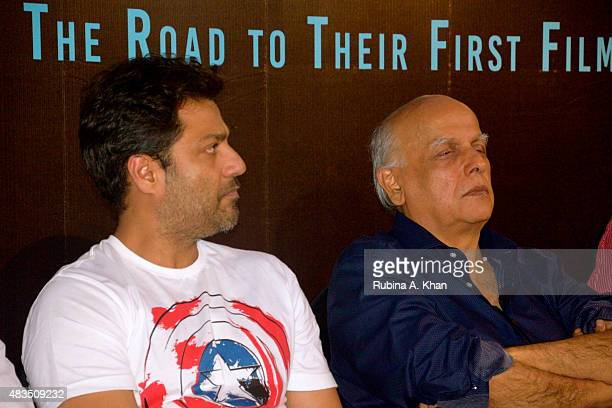 Directors Abhishek Kapoor and Mahesh Bhatt attend the book release of Rakesh Anand Bakshi's 'Directors' Diaries The Road To Their First Film'...
