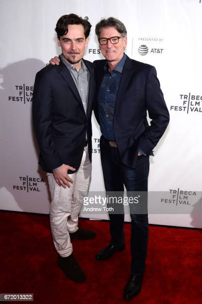 Directors Adrian Buitenhuis and Derik Murray attend the 'I Am Heath Ledger' premiere during the 2017 Tribeca Film Festival at Spring Studios on April...