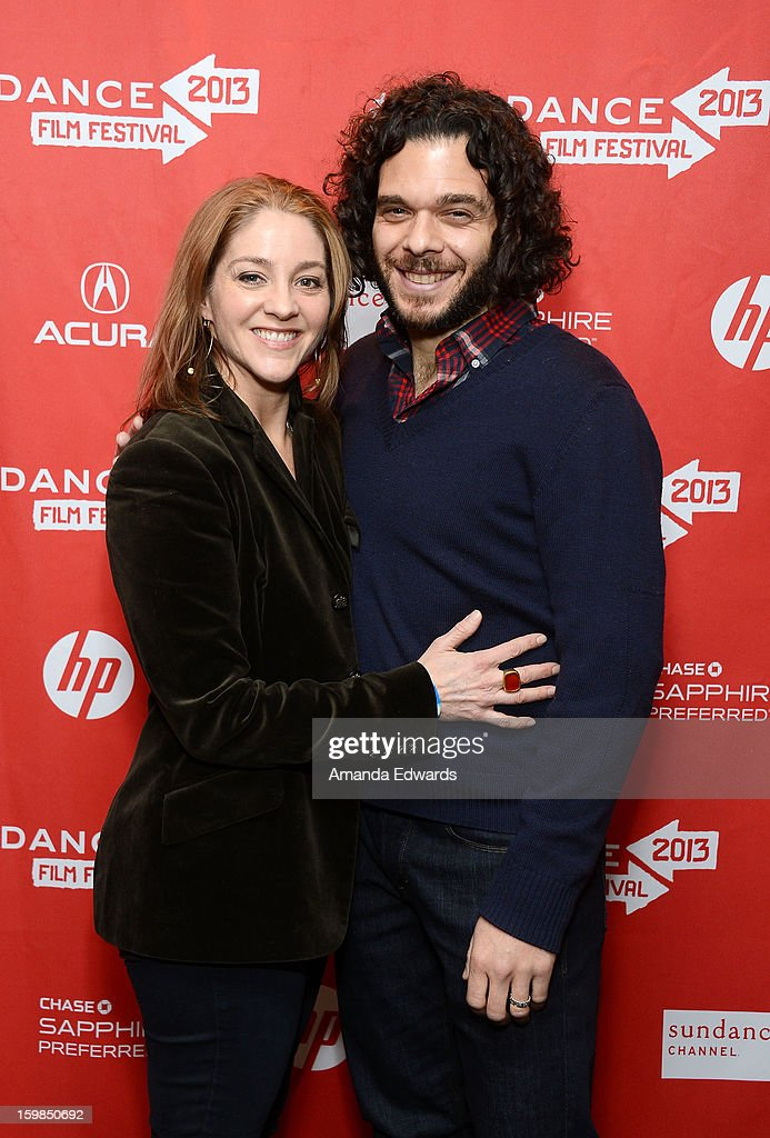Directors Andrea Nix Fine (L) and Sean Fine arrive at the 2013 Sundance Film Festival Premiere of 'Life According To Sam' at Temple Theater on January 21, 2013 in Park City, Utah.