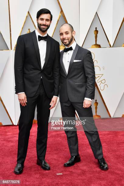 Directors Andrew Coats and Lou HamouLhadj attend the 89th Annual Academy Awards at Hollywood Highland Center on February 26 2017 in Hollywood...