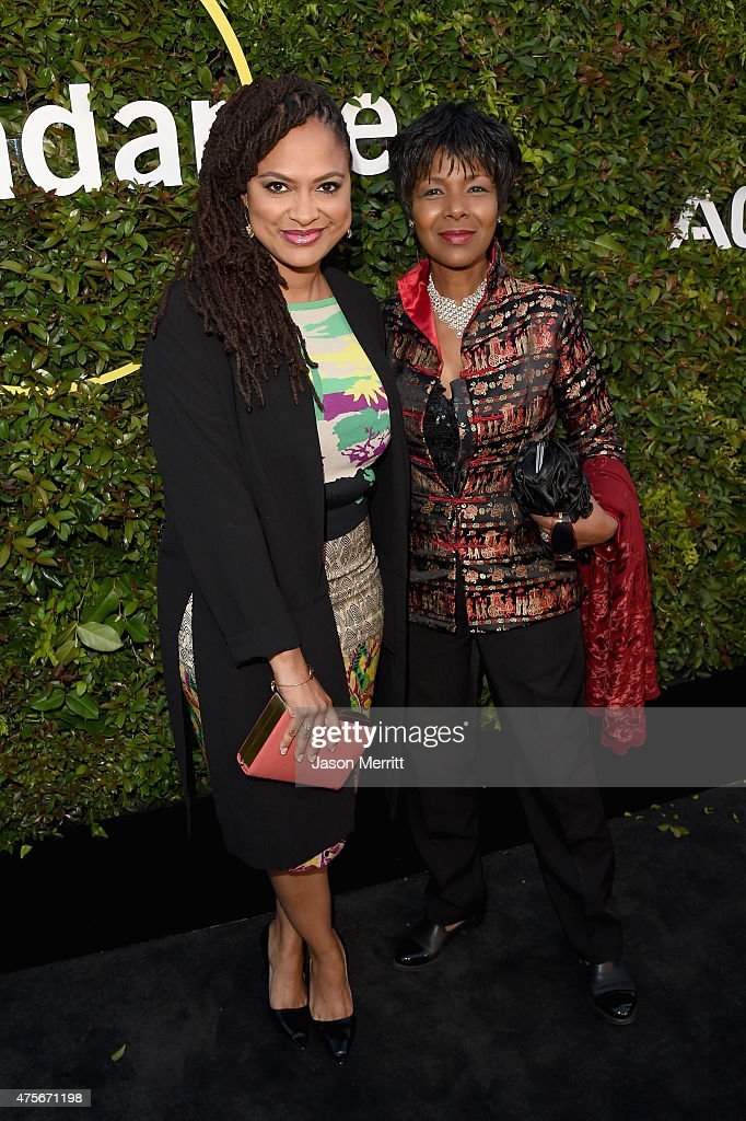 Directors Ava DuVernay (L) and Euzhan Palcy attend the 2015 Sundance Institute Celebration Benefit at 3LABS on June 2, 2015 in Culver City, California.