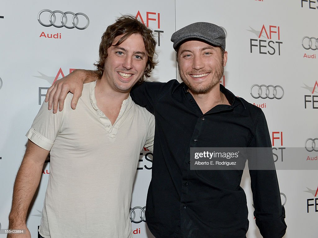Directors Bill Ross and Turner Ross arrive at the 'Holy Motors' special screening during the 2012 AFI Fest at Grauman's Chinese Theatre on November 3, 2012 in Hollywood, California.