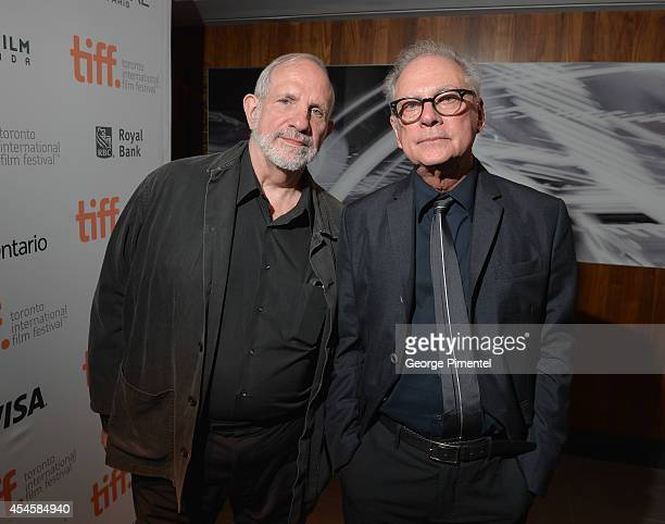 Directors Brian de Palma and Barry Levinson attend the 3rd Annual TIFF Gala reception during the 2014 Toronto International Film Festival at TIFF...