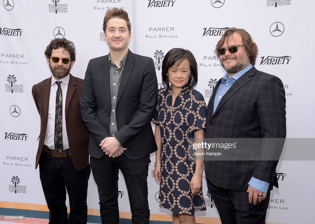 Directors Charlie Kaufman, Duke Johnson, producer Rosa Tran, and actor Jack Black attend Variety's Creative Impact Awards and 10 Directors to Watch Brunch Presented By Mercedes-Benz at The 27th Annual Palm Springs International Film Festival on January 3, 2016 in Palm Springs, California.