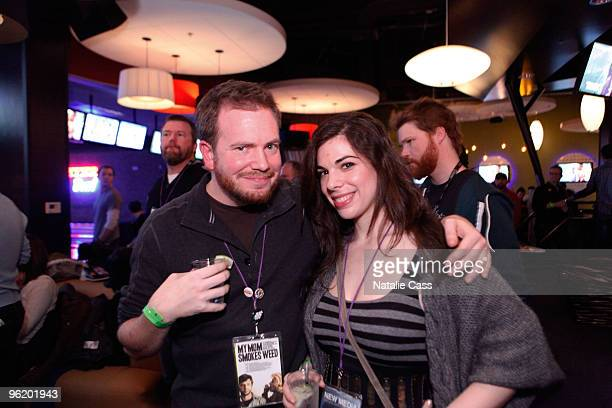 Directors Clay Liford and JJ Adler attend the Shorts reception ceremony and party at Jupiter Bowl during the 2010 Sundance Film Festival on January...