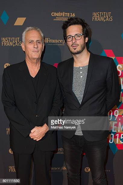 Directors Daniel and Emmanuel Leconte attend the premiere for the film 'Je Suis Charlie' as part of the 15th French Film Week at Cinema Paris on...