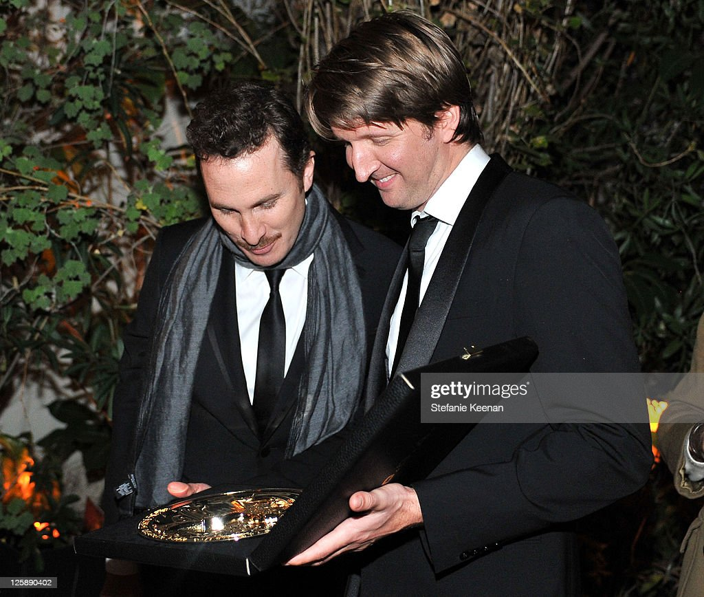 Directors Darren Aronofsky and Tom Hooper attend Entertainment Weekly's celebration honoring the 17th Annual Screen Actors Guild Awards nominees...