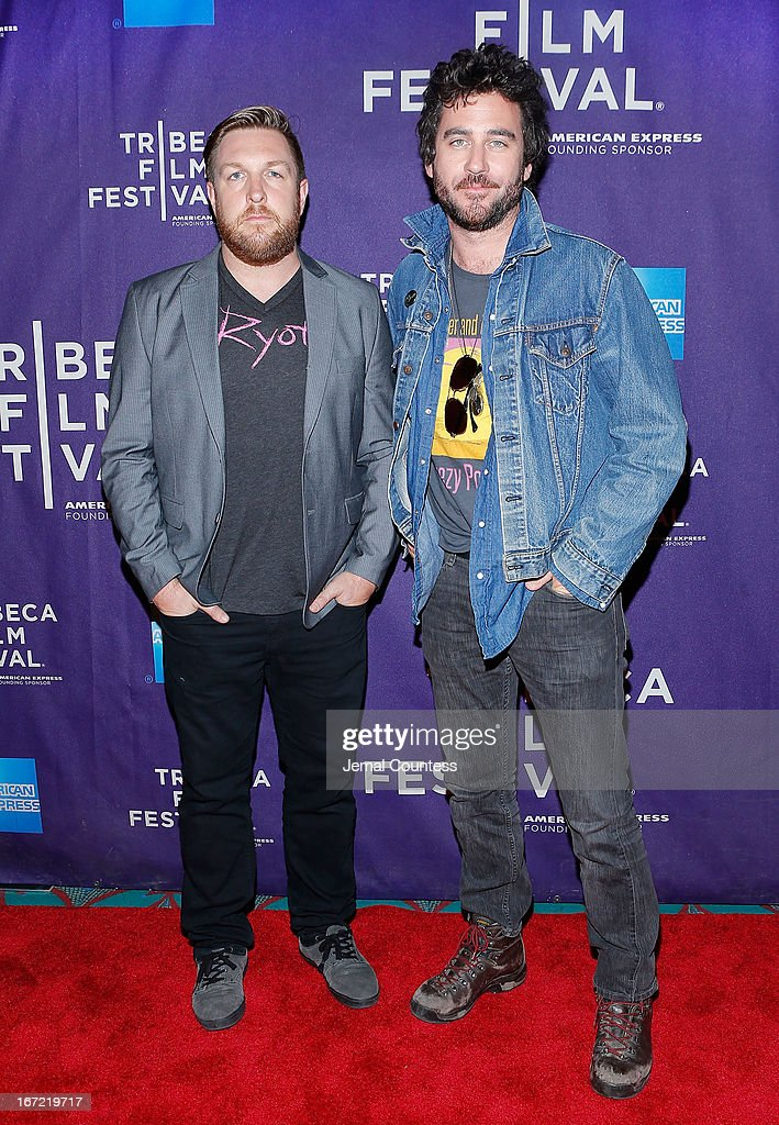 Directors David Darg and Bryn Mooser attend 'The Rider And The Storm' Screening during the Shorts Program at the 2013 Tribeca Film Festival on April 22, 2013 in New York City.