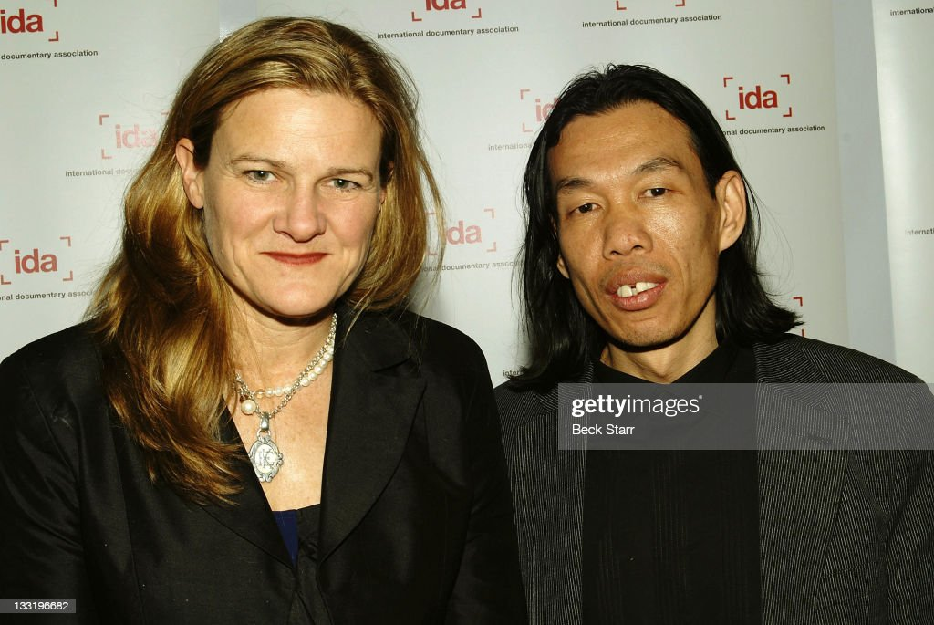 Directors <a gi-track='captionPersonalityLinkClicked' href=/galleries/search?phrase=Ellen+Kuras&family=editorial&specificpeople=243051 ng-click='$event.stopPropagation()'>Ellen Kuras</a> and Thavisouk Phrasavath arrive at The 2009 International Documentary Association Oscar Nominees Reception on February 18, 2009 in Beverly Hills, California.