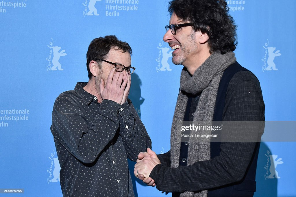 Directors <a gi-track='captionPersonalityLinkClicked' href=/galleries/search?phrase=Ethan+Coen&family=editorial&specificpeople=1130888 ng-click='$event.stopPropagation()'>Ethan Coen</a> (L) and <a gi-track='captionPersonalityLinkClicked' href=/galleries/search?phrase=Joel+Coen&family=editorial&specificpeople=4292064 ng-click='$event.stopPropagation()'>Joel Coen</a> attend the 'Hail, Caesar!' photo call during the 66th Berlinale International Film Festival Berlin at Grand Hyatt Hotel on February 11, 2016 in Berlin, Germany.