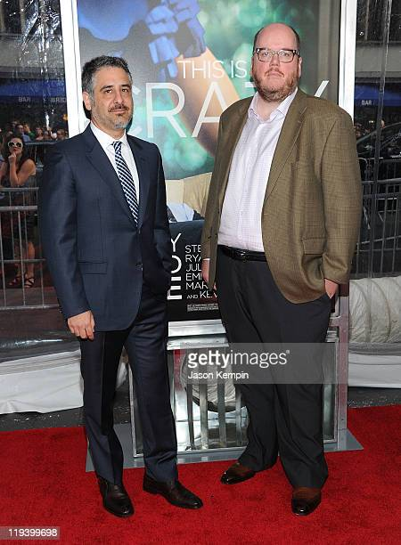 Directors Glenn Ficarra and John Requa attend the 'Crazy Stupid Love' World Premiere at the Ziegfeld Theater on July 19 2011 in New York City