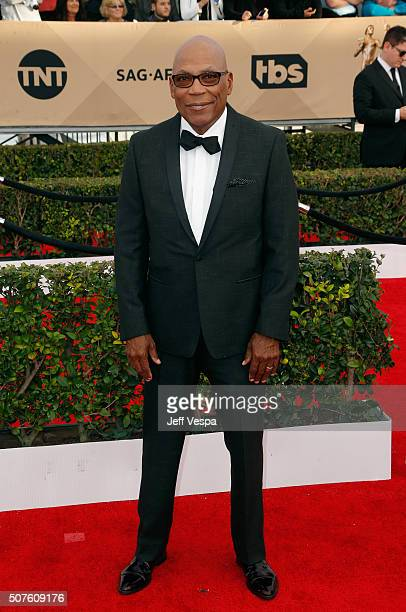 Directors Guild of America Directors Guild of America President Paris Barclay attends the 22nd Annual Screen Actors Guild Awards at The Shrine...