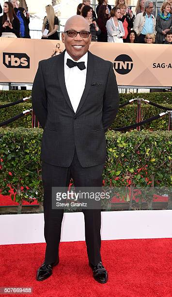 Directors Guild of America President Paris Barclay attends the 22nd Annual Screen Actors Guild Awards at The Shrine Auditorium on January 30 2016 in...