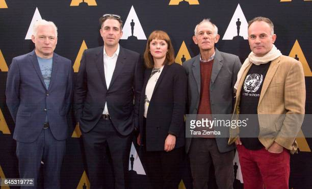 Directors Hannes Holm Martin Zandvliet Maren Ade Martin Butler and Bentley Dean arrive to the 89th Annual Academy Awards Oscar Week reception for...