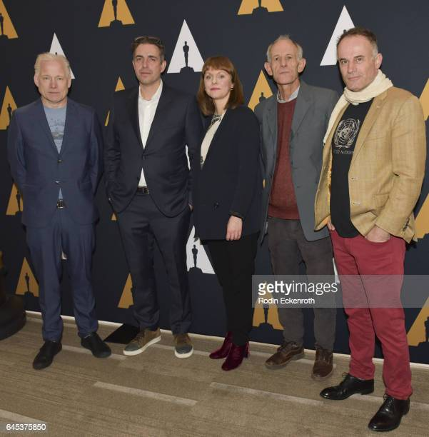 Directors Hannes Holm Martin Zandvliet Maren Ade Martin Butler and Bentley Dean attend 89th Annual Academy Awards Oscar week celebration of Foreign...