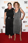 Directors Heidi Ewing and Rachel Grady attend the premiere of Music Box Films' 'Norman Lear Just Another Version Of You' at The WGA Theater on July...