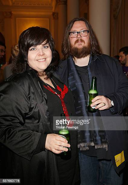 Directors Iain Forsyth and Jane Pollard attend The Big Sundance London Party at the Langham Hotel on June 2 2016 in London England
