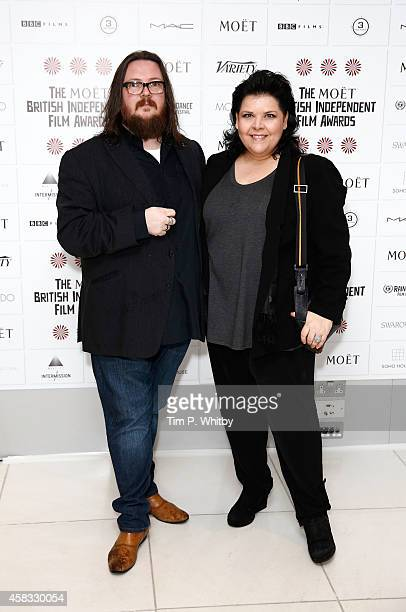 Directors Iain Forsyth and Jane Pollard attend the nominations launch for the British Independent Film Awards at St Martins Lane Hotel on November 3...