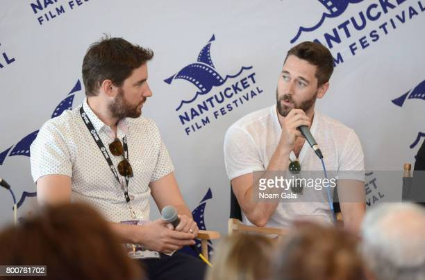 Directors Jared Moshe and Ryan Eggold attend 'Morning Coffee' during the 2017 Nantucket Film Festival Day 5 on June 25 2017 in Nantucket Massachusetts