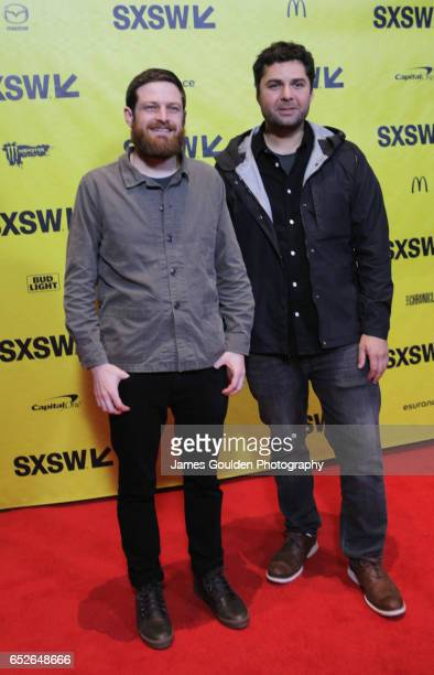 Directors Jason Sussberg and David Alvarado attend the premiere of 'Bill Nye Science Guy' during 2017 SXSW Conference and Festivals at Vimeo on March...