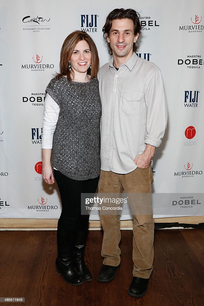 Directors Jennifer Grausman and Sam Cullman attend the Tribeca Press Day for the documentary 'Art and Craft' at the Carlton Hotel on April 18, 2014 in New York City.