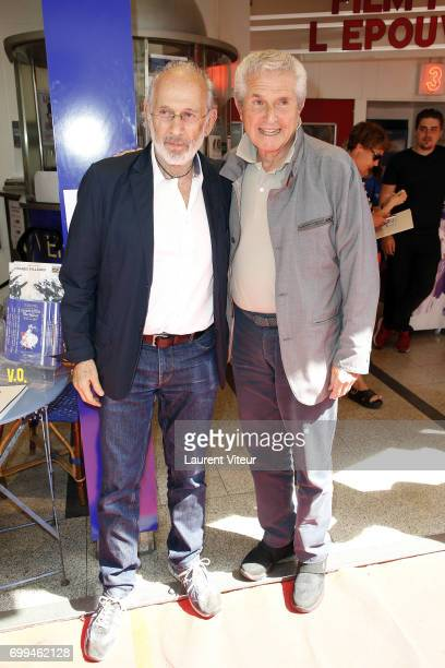 Directors Jerry Schatzberg and Claude Lelouch attend 'L'Epouvantail' at Cinema Le Lincoln during the 6th ChampsElysees Film Festival on June 20 2017...