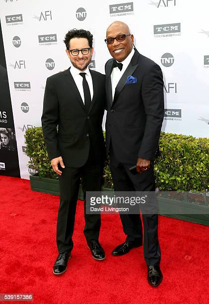 Directors JJ Abrams and Paris Barclay attend American Film Institute's 44th Life Achievement Award Gala Tribute to John Williams at Dolby Theatre on...
