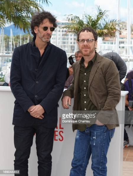 Directors Joel Coen and Ethan Coen attend the photocall for 'Inside Llewyn Davis' during the 66th Annual Cannes Film Festival at Palais des Festivals...
