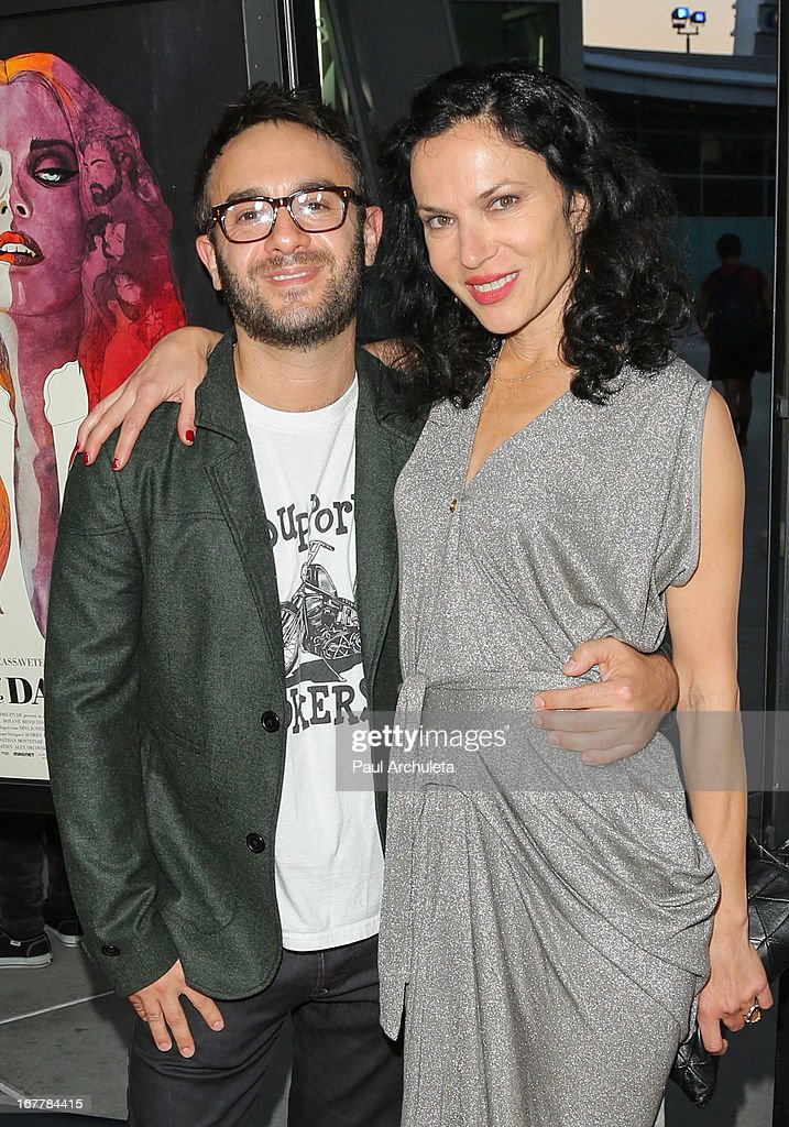Directors John Krokidas (L) and Xan Cassavetes (R) attend the special screening of 'Kiss Of The Damned' at the ArcLight Hollywood on April 29, 2013 in Hollywood, California.