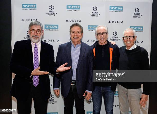 Directors John Landis David Zucker producer Jerry Zucker and director Jim Abrahams at the screening of 'The Kentucky Fried Movie' during the 2017 TCM...