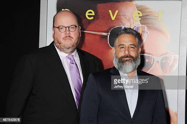 Directors John Requa and Glenn Ficarra attend the Warner Bros Pictures' 'Focus' premiere at TCL Chinese Theatre on February 24 2015 in Hollywood...