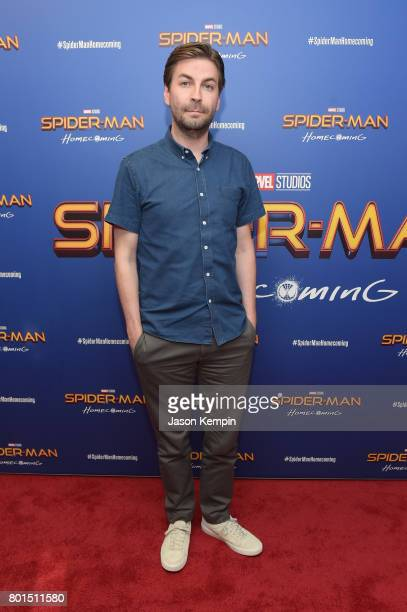 Directors Jon Watts attends the 'Spiderman Homecoming' New York First Responders' Screening at Henry R Luce Auditorium at Brookfield Place on June 26...