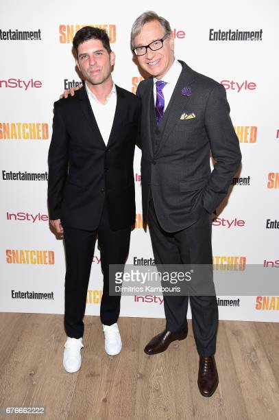 Directors Jonathan Levine and Paul Feig attend the 'Snatched' New York Premiere at the Whitby Hotel on May 2 2017 in New York City