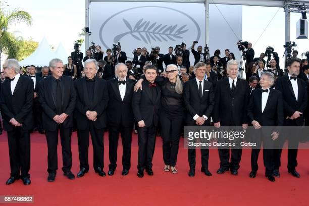 Directors Ken Loach Claude Lelouch CostaGavras Michael Haneke Cristian Mungiu Jane Campion Bille August David Lynch Roman Polanski and Nanni Moretti...
