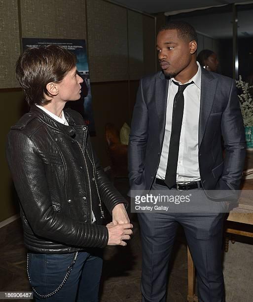 Directors Kimberly Peirce and Ryan Coogler attend the Vanity Fair event honoring Michael B Jordan of 'Fruitvale Station' at Soho House on November 4...