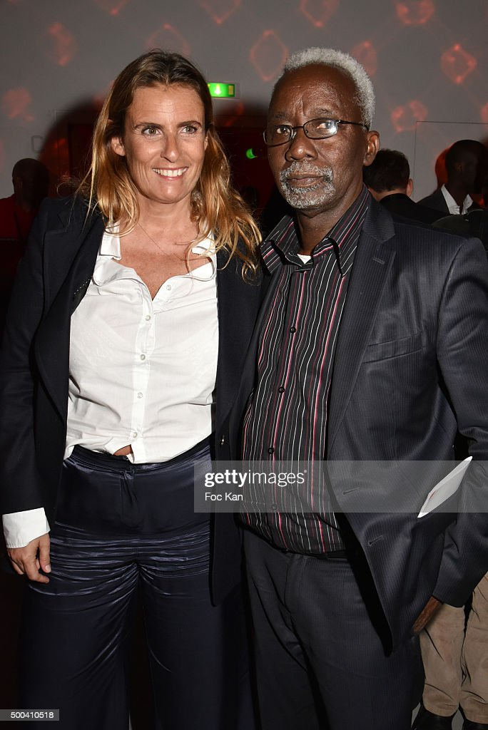 Directors Lisa Azuelos and <a gi-track='captionPersonalityLinkClicked' href=/galleries/search?phrase=Souleymane+Cisse&family=editorial&specificpeople=606860 ng-click='$event.stopPropagation()'>Souleymane Cisse</a> attend the 'Positive Awards' Ceremony at La Gaiete Lyrique on December 7, 2015 in Paris, France.